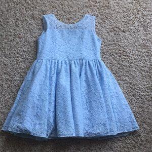 Pippa & Julie Blue Lace Dress